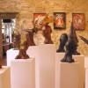 Exposition à la Galerie d'Art «Les Bains Douches», à Antibes