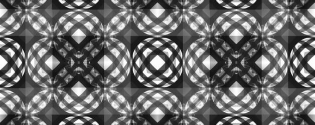 Série monochrome d'Op Art