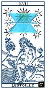 Tarot: carte de l'étoile