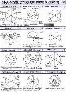 Graphisme symbolique tiré du chrisme à 60°