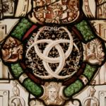 Emblème d'Henri II dans la version des 3 croissants entrelacés
