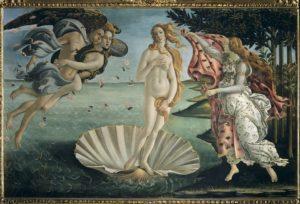 La naissance de Vénus de Sandro Botticelli (1485)