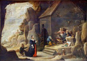 La tentation de Saint Antoine (D. Téniers 2)