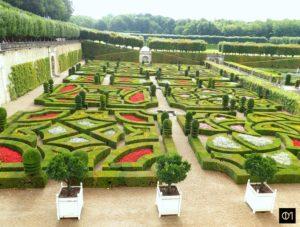 Vue sur les jardins d'amour