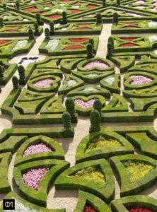 Parterre des jardins d'Amour